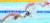 도쿄 올림픽에서 힘차게 물살을 가르는 '수영 괴물' 황선우. 그는 28일 자유형 100m 준결승에서 47초56의 아시아신기록으로 결승에 올랐다. 막판 스퍼트가 특히 돋보였는데, 후반 50m 구간 기록(24초39)은 세계 기록보다 빨랐다. [연합뉴스]