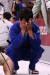 29일 일본 도쿄 무도관에서 열린 도쿄올림픽 유도 여자 -78 kg급 동메달 결정전에서 한국 윤현지가 브라질 마이라 아귀아르를 상대로 동메달 획득에 실패한 뒤 아쉬워하고 있다.[연합뉴스]