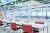 도쿄 하루미 올림픽선수촌 식당 내부. [사진 도쿄올림픽 조직위원회]