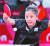 신유빈이 27일 도쿄체육관에서 열린 도쿄올림픽 여자탁구 개인전 홍콩 두 호이 켐과 경기에서 공격하고 있다. 연합뉴스