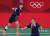 배드민턴 이소희(오른쪽)와 신승찬이 31일 도쿄올림픽 배드민턴 여자 복식 4강전을 치렀다. [뉴스1]