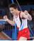 2일 일본 아리아케 체조경기장에서 열린 2020 도쿄올림픽 기계체조 남자 도마 결승에서 신재환이 연기를 마치고 환호를 하고 있다. 올림픽사진공동취재단