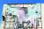 당시 반군에 의해 사이프의 아버지 무아마르 카다피가 새겨진 현수막이 찢겨진 모습. [로이터=연합뉴스]