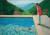 데이비드 호크니의 '예술가의 초상'(1972). 수영하는 자신과 11살 연하의 동성 연인을 그렸다. [사진 위키피디아]