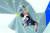 지난 5일 열린 도쿄올림픽 스포츠클라이밍 남자 콤바인 결선에 보인 구조물은 욱일기를 연상시킨다는 지적을 받았다. [AP]