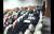 조 전 장관 부인 정경심 동양대 교수 측이 서울대 공익인권법센터 세미나 활동 내용이 담긴 동영상을 공개했다. 붉은 원 안의 여성이 정 교수측이 주장하는 조민씨 모습이다. [연합뉴스]