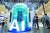 중국에서 가장 큰 AI 행사인 '월드 인텔리전스 콩그레스' 현장. 신화통신 = 연합뉴스
