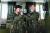 넷플릭스 'D.P.'는 '탈영병 잡는 헌병' D.P. 소속 정해인(오른쪽), 구교환을 그렸다. [사진 넷플릭스]