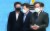 이낙연 더불어민주당 전 대표(왼쪽 셋째)가 2일 국회에서 윤석열 전 검찰총장의 여권 정치인에 대한 청부 고발 의혹과 관련해 긴급 기자회견을 마친 후 회견장을 나서고 있다. 임현동 기자
