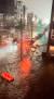 1일(현지시간) 미국 뉴욕 브루클린 인근 침수된 도로 위로 차량이 침수돼 있다. 로이터=연합뉴스