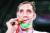 도쿄 패럴림픽 좌식배구에서 우승한 모르테자 메흐자드의 경기 모습. [AP=연합뉴스]