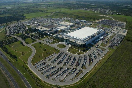 미국 텍사스주 오스틴에 있는 삼성전자 오스틴 반도체 공장. [사진 삼성전자]