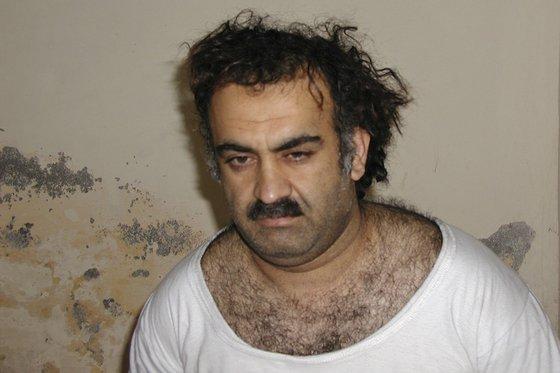 9·11 테러 주범 칼리드 셰이크 모하메드 자료사진. [AP=연합뉴스]