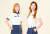김아로미(오른쪽)·새로미 쌍둥이 자매의 골프 스타일은 전혀 다르다. [사진 JTBC골프 매거진]