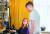 모자 프로게이머인 앤 피시(왼쪽)와 벤지 피시가 대화하고 있다. [사진 인스타그램]