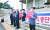 지난달 30일 7개 언론단체가 언론중재법 개정 철회를 촉구하고 있다. 임현동 기자