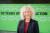 독일에서 열린 그린피스 50주년 기념식에 참석한 제니퍼 모건(Jennifer Morgan) 국제본부 사무총장. 사진 그린피스 서울사무소
