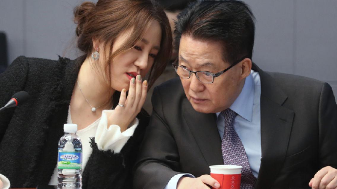 """또 롯데호텔 38층 간 조성은 """"원장님 일정 비어 짬낸 것"""""""