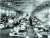 1918년 스페인독감 환자를 격리 수용한 미국 켄자스주의 임시병동 모습.[위키피디아]