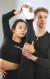 2018 평창동계올림픽 당시 한국 피겨 사상 최초로 아이스댄스 부문에 출전해 화제를 모았던 재미교포 민유라. 오른쪽은 파트너 대니엘 이튼. 오종택 기자