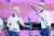 도쿄올림픽 혼성 결승전에서 나선 김제덕(왼쪽)과 안산. [연합뉴스]