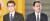 29일 실시되는 일본 자민당 총재 선거에서 경합중인 고노 다로 행정개혁상(왼쪽)과 기시다 후미오 전 자민당 정조회장. [연합뉴스]
