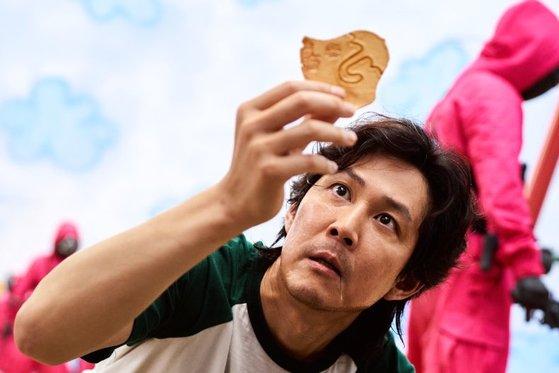넷플릭스 오리지널 '오징어 게임'의 한 장면.