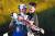 임성재(오른쪽) 역시 슈라이너스 칠드런스오픈을 1위로 마쳐 한국 첫 '같은 날 남녀 동반우승'을 해냈다. [AFP=연합뉴스]