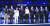 이재명 경기지사가 10일 더불어민주당 대통령 후보로 선출됐다. 이 후보(오른쪽 둘째)를 비롯한 민주당 대선 경선 예비후보 9명이 7월 3일 첫 합동토론회에 앞서 기념촬영을 하고 있다. [뉴스1]
