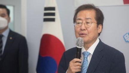 """박사모 """"홍준표 지지한다…윤석열 용서 못해, 위장침투한 것"""""""