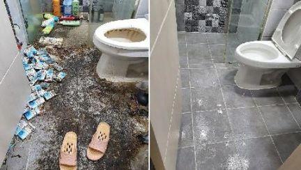 청소하는데 100만원 부른 집…찾아간 1.5룸의 충격 상태