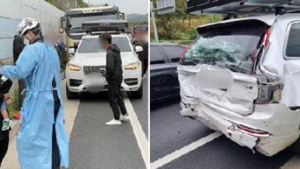 """하준맘 탄 차, 25톤 트럭이 박아도 """"멀쩡""""···알고보니 '박지윤 차'"""