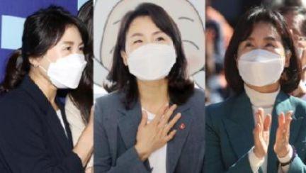 화제의 '포니테일'서 다시 단발…이재명 부인 김혜경 변신 왜