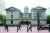 포틀랜드 다운 타운의 파이어니어 코트하우스 앞 거리. [사진 여하연]