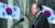 문재인 대통령이 1일 오전 서울 광화문 광장에서 열린 제100주년 3·1절 기념식에서 기념사를 하고 있다. 제2차 북·미회담 결렬 이후 문 대통령의 중재자 역할이 기대되고 있다. [연합뉴스]