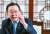 """김부겸 전 행안부장관은 지난 2일 '공존을 통해야 문제를 풀 수 있고, 문제를 풀어야 앞으로 나아갈 수 있다""""고 말했다. [김현동 기자]"""