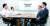 12일 일본 도쿄 경제산업성 에서 열린 한·일 과장급 첫 실무회의에서 산업통상자원부 전찬수 무역안보과장과 한철희 동북아통상과장(오른쪽부터)이 일본 경제산업성 이와마쓰 준 무역관리과장, 이가리 가쓰로 안전보장무역관리과장(왼쪽부터)과 마주 앉아 있다. [연합뉴스]