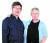 MBSR을 창안한 미국 매사추세츠대 의학부 명예교수 존 카밧진 박사(오른쪽)와 그의 제자인 한국MBSR연구소 안희영 소장. [사진 한국MBSR연구소]