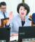 김승희 자유한국당 의원은 이날 보건복지부 국감에서 문재인 대통령을 향해 '치매 초기 증상' 등의 발언을 해 여당 의원들의 반발을 샀다. [뉴스1]
