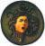 카라바조 '메두사의 머리'(1597). [사진 피렌체 우피치 미술관]