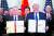 트럼프 대통령(오른쪽)과 류허 부총리가 1단계 무역 합의안에 서명했다. [연합뉴스]
