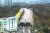 종묘~창경궁 연결 공사 현장. 왼쪽 숲이 종묘, 오른쪽 숲이 창경궁. [연합뉴스]