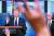 도널드 트럼프 미국 대통령이 지난 2일(현지시간) 백악관에서 열린 코로나19 관련 브리핑에서 기자들 질문에 답하고 있다. [EPA=연합뉴스]
