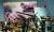 콴티코 해병대 박물관의 신미양요 전시실. 그림 제목 'Storming Fort Chojijin' (초지진 돌격). 1871년 6월 강화도에 상륙하는 미 해병대. 웃통을 벗은 사병들이 밧줄로 대포를 끌고 있다. 12파운드 달그렌 보트 곡사포(왼쪽)가 그림 속 대포의 실물.