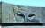 조르게의 출생지 아제르바이잔 수도 바쿠에 있는 기념 조각상(1981년 제작). 얼굴은 가려져 있다. 기밀을 낚는 사냥꾼의 날카로운 눈매를 압축해 묘사했다.