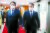 박능후 보건복지부 장관(오른쪽)과 최대집 대한의사협회장이 4일 정부서울청사에서 열린 의·정 협의체 구성 합의 서명식에 참석하고 있다. [뉴시스]