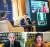 제39회 유엔 '세계평화의 날' 기념 국제회의가 9월 22일 서울 경희대 회의실에서 열렸다. 주제는 '긴급성의 시대, 정치 규범의 새 지평'. 코로나19 사태로 예년과 달리 온라인으로 진행됐다. 큰 사진은 경희대 조인원 이사장(오른쪽)이 안병진 경희대 교수의 사회로 토론하는 모습. 아래 작은 사진의 왼쪽은 미 프린스턴대 존 아이켄베리 교수, 오른쪽은 미 하버드대 나오미 오레스케스 교수. [사진 경희대]