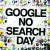 '구글 검색하지 않는 날' 캠페인 포스터. [애드 버스터즈]