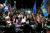 5일 애리조나주 피닉스에서 극우단체 회원들이 트럼프 지지 시위를 하고 있다. [AP=뉴시스]