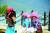 중국 윈난성의 소수민족인 모쒀족의 여성들. 모쒀족 상당수는 여성이 대를 잇는 가모장제를 유지해 오고 있다. [사진 유광석]